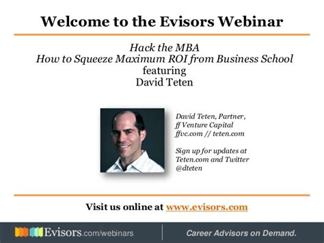Mba Hackers by Hacking Your Mba