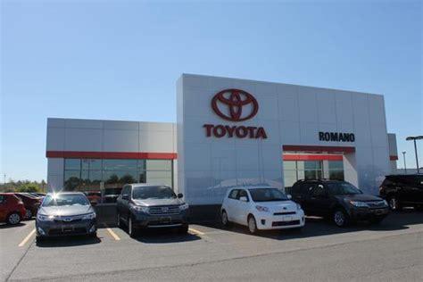 Toyota Dealers Ny Romano Toyota Car Dealership In East Syracuse Ny 13057