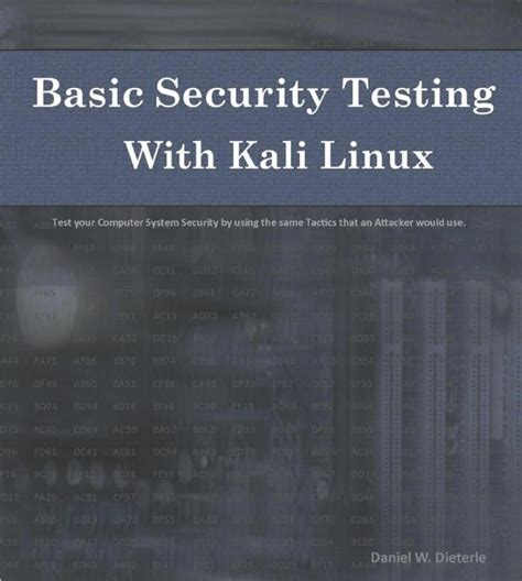 kali linux complete tutorial pdf free pdf download basic security testing with kali linux