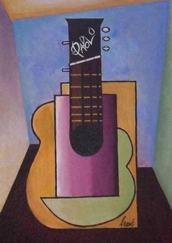 Picasso Cubism Guitar Site Disabled