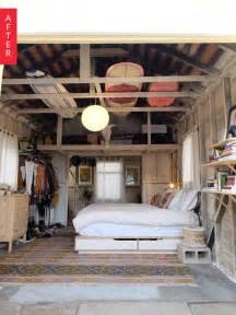 Garage Bedroom Ideas before amp after from grimy garage to glamping bedroom