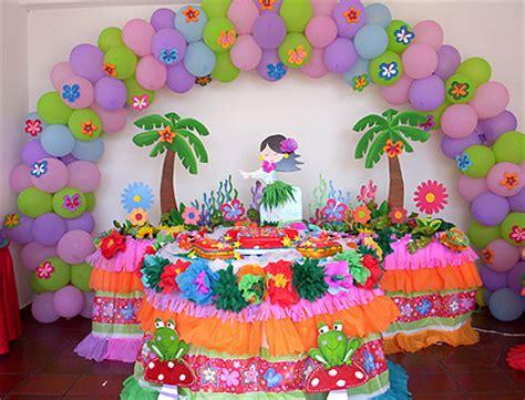 imagenes de cumpleaños hawaiano decoraci 243 n hawaiana organizamos tus eventos estando a la
