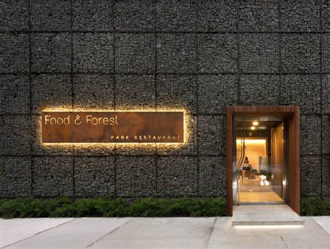 food forest restaurant  yod design lab design