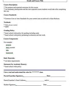 create a syllabus template gaining a new perspective in a foreign land rayl s