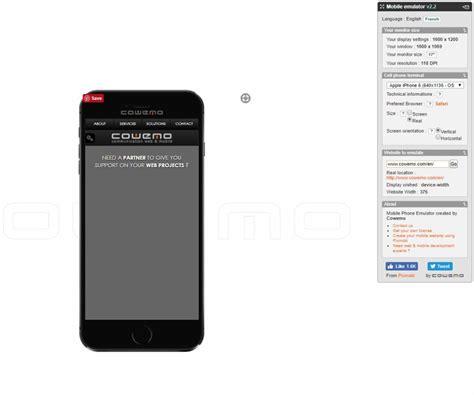 mobile phone emulator best mobile emulators and rwd testing tools