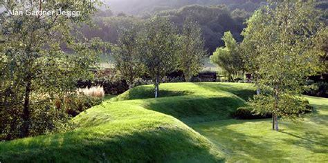 Landscape Mounds Pictures Snaking Grass Mound By Landscape Architect Alan Gardner
