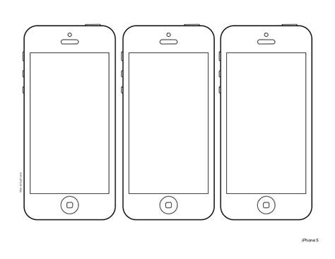 Phone Design Template iphone 5 design templates