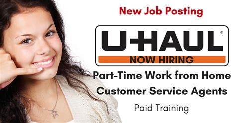 new openings u haul now hiring part time customer