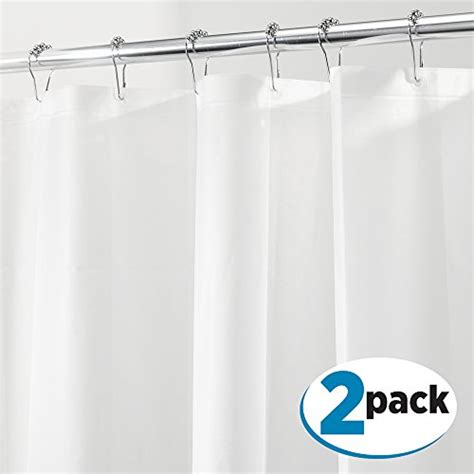 eco friendly shower curtain liner metrodecor fba 1539mdba mdesign peva 3g shower curtain