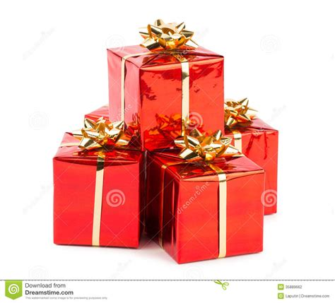 christmas gifts stock photography image 35889662