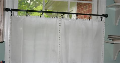 napkin curtains the strawberry blonds cottage napkin curtains