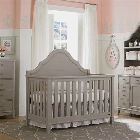 Grey Crib Nursery by Crib Dove Gray Bassett Baby Babies I Want Babies