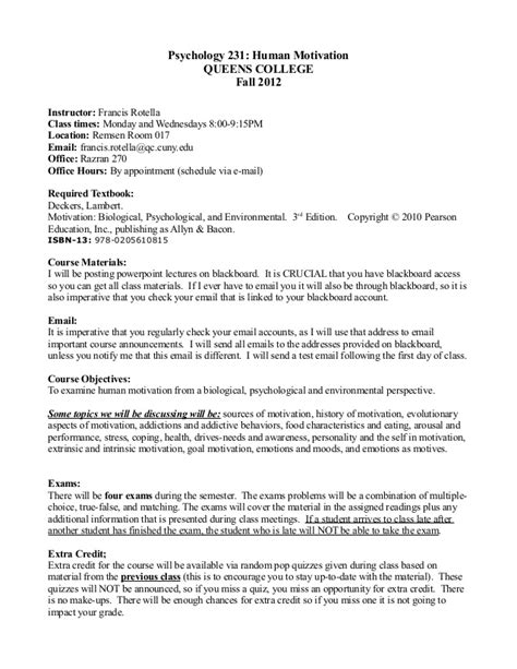 Website Agreement Template psych 231 psy of human motiv queens college fall 2012