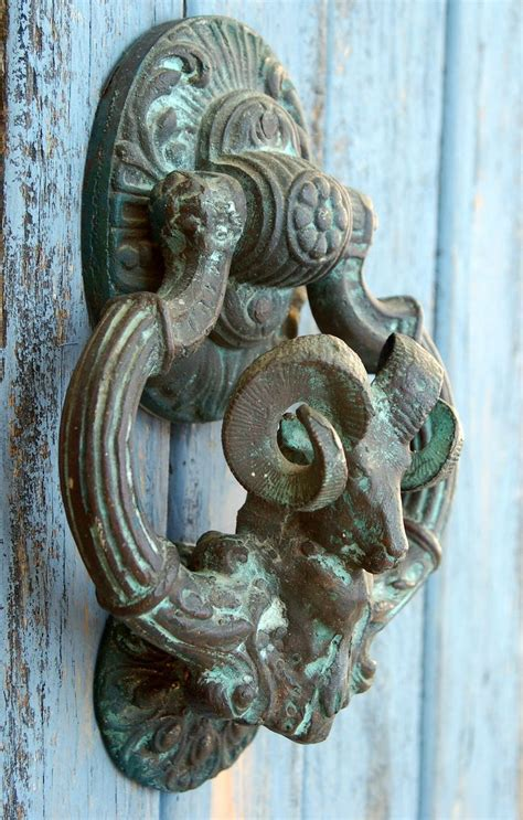 door knocker antique large ram door knocker french victorian aries