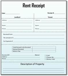 rent receipt template for word 8 house rent receipt template in doc pdf format