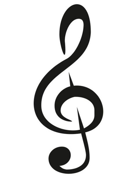 Treble Clef Pendant Necklace Kalung Musik Kunci G 28 best images about schabloner on flower stencils scroll design and stencils