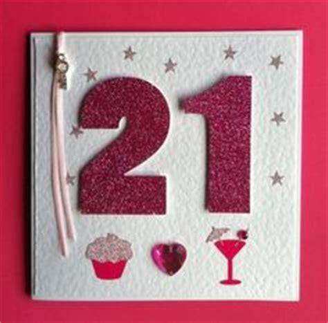 Handmade 21st Birthday Card - 21st birthday card handmade card inspiration
