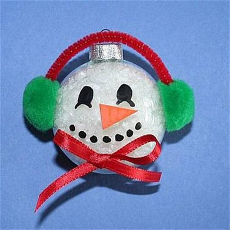 christmas crafts snowman orniment dump a day