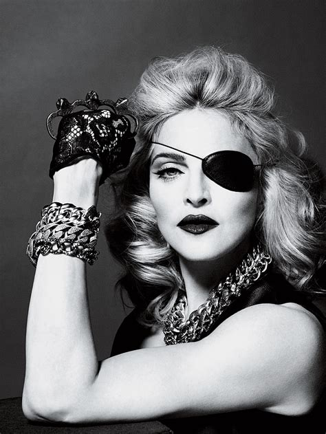 Madonna  Photo shott for Interview May 2010   Madonna
