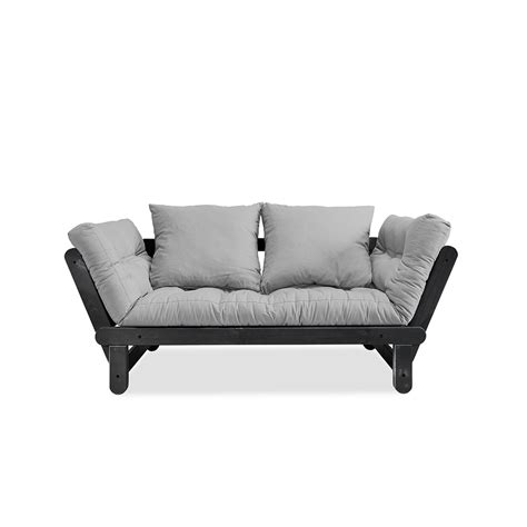 whisk the couch beat sofa bed with black structure by karup lovethesign