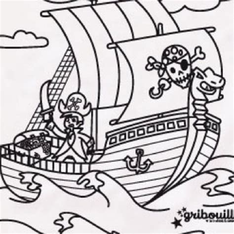 dessin bateau imprimer gratuit coloriage pirate sur le bateau dessin gratuit 224 imprimer