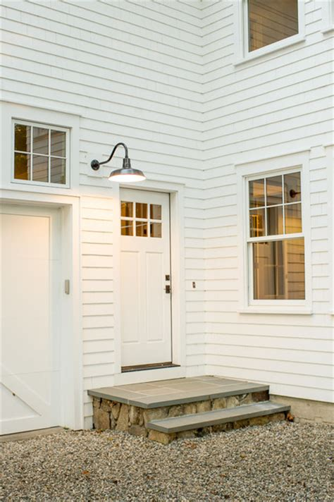 Exterior Farmhouse Doors Westport Farmhouse For The Modern Traditionalist Farmhouse Exterior New York By Thiel