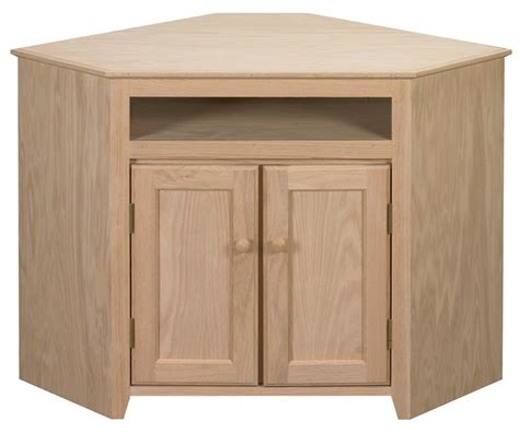 Unfinished Furniture Cabinet by Corner Cabinet Starkwood Unfinished Furniture Starkwood