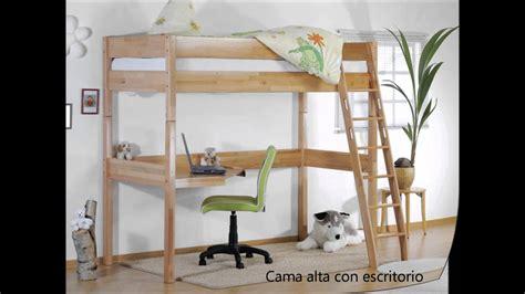 escritorio con cama