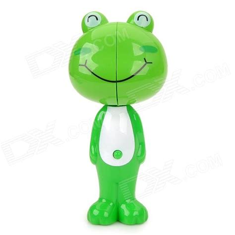 Frog Toothbrush Holder Green Intl smile frog style automatically popup toothbrush