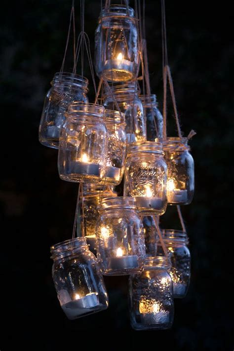 how to make a chandelier with jars 68 best images about jar centerpieces decor on