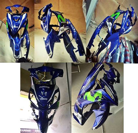 Cover Set Y15zr yamaha lc135 v2 movistar cover set others kuala lumpur kl malaysia selangor supplier