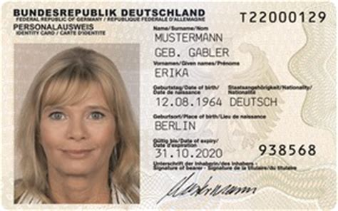 Bewerbung Polizei Lichtbild Stadt Salzgitter Personalausweis