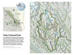canada s park of wonders map yoho national park