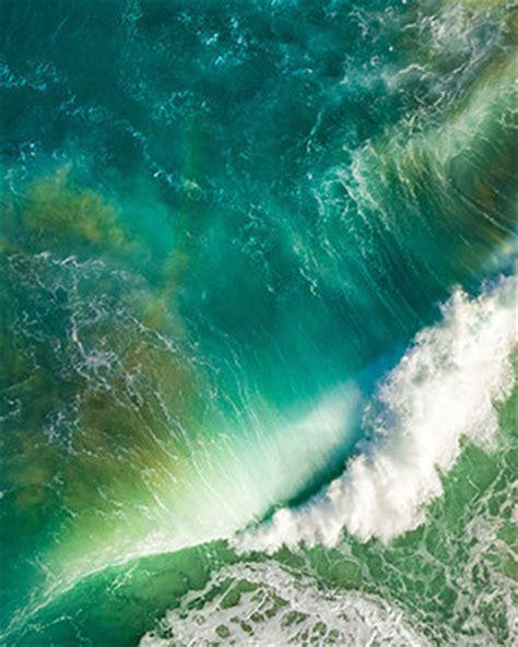 ios10 sea wave blue   wallpaper.sc applewatch