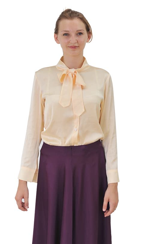 High Neck Blouse S Shirts by Marycrafts Womens Classic Office Sleeve High Collar
