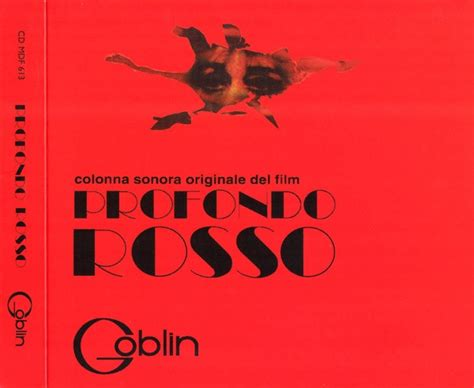 goblin film soundtrack sweeter than echoes goblin profondo rosso the complete