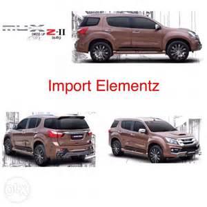 Isuzu Parts Dealer Philippines Accessories For Isuzu Mux Philippines Dealer Autos Post
