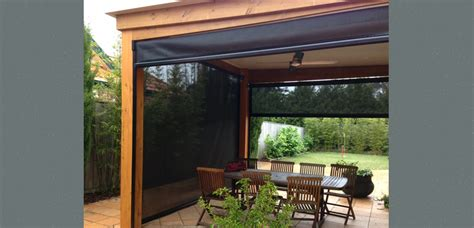 blinds for pergolas zip track blinds archives outside concepts
