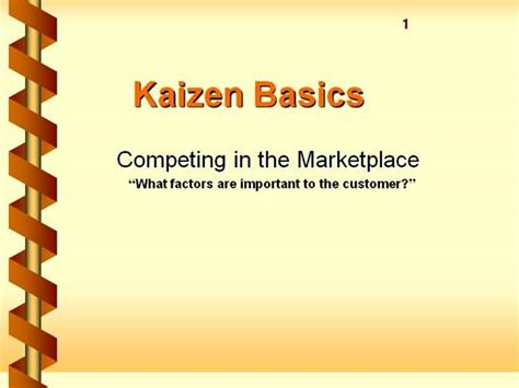 kaizen material pra authorstream