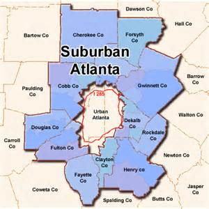 atlanta suburban apartment market