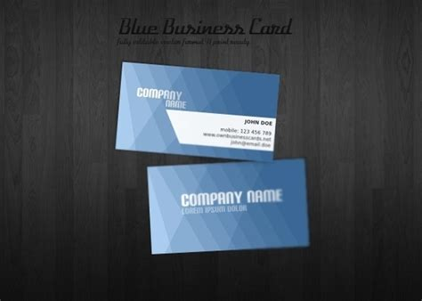 business card template open office blue business card template free vector in encapsulated
