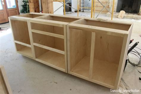 Building A Bar With Kitchen Cabinets Cabinet Beginnings Building Kitchens And Woodworking