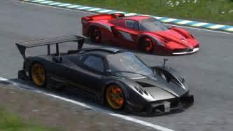 Pagani Zonda R Vs Fxx Driveclub Fxx Evoluzione Vs Pagani Zonda R Race