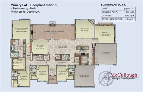 winery floor plans rb winery lot mccullough design development