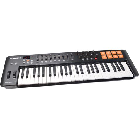 Keyboard M Audio m audio oxygen 49 iv usb midi keyboard controller oxygen49iv