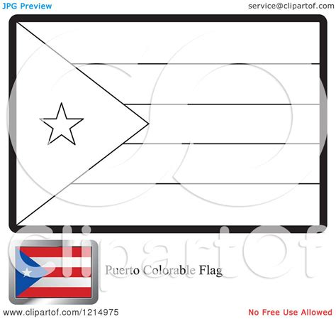 27 flag of puerto rico coloring page puerto rican flag