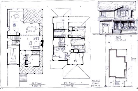 house plan 2500 square home design and style