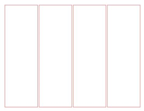 bookmark templates blank bookmark template for word this is a blank