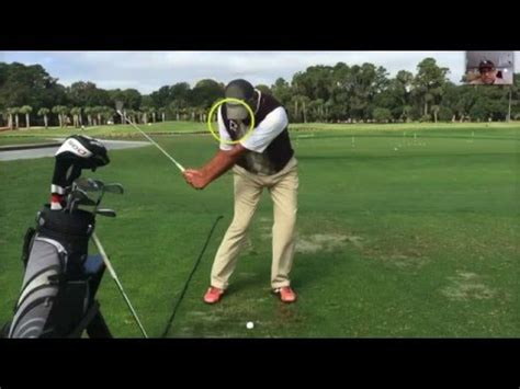 simple golf swing for seniors senior golf lessons 2 6 backswing youtube