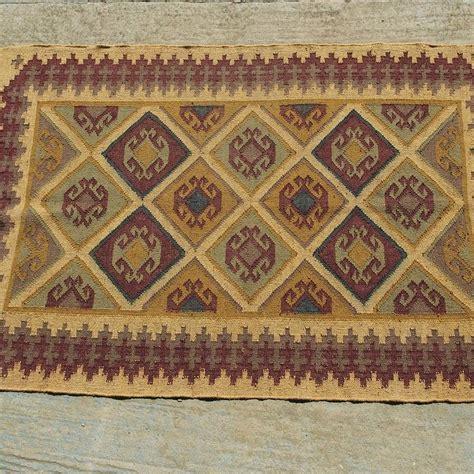 kilim wool rug wool and jute kilim rug c by jones vintage notonthehighstreet